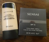 new foundation and my favourite powder