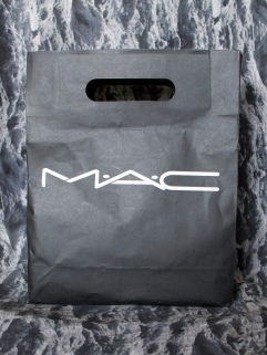 The glorious MAC bag filled with goodies!