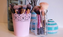 Brushes before a bath!