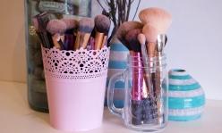 Brushes before a bath!